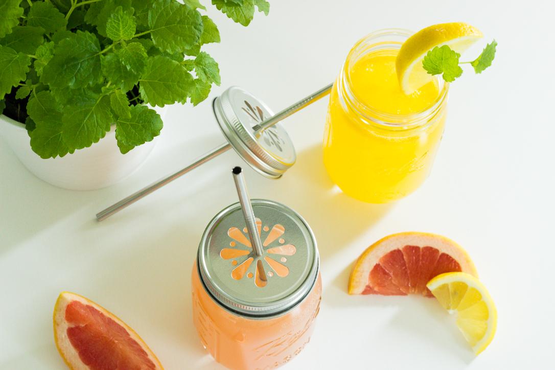 Selbst gemachte Limonaden