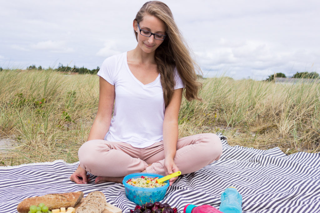 Picknick am Flügger Strand
