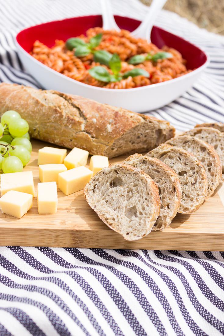 Picknick mit Salat