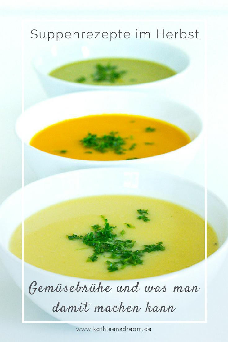Suppenrezepte für den Herbst