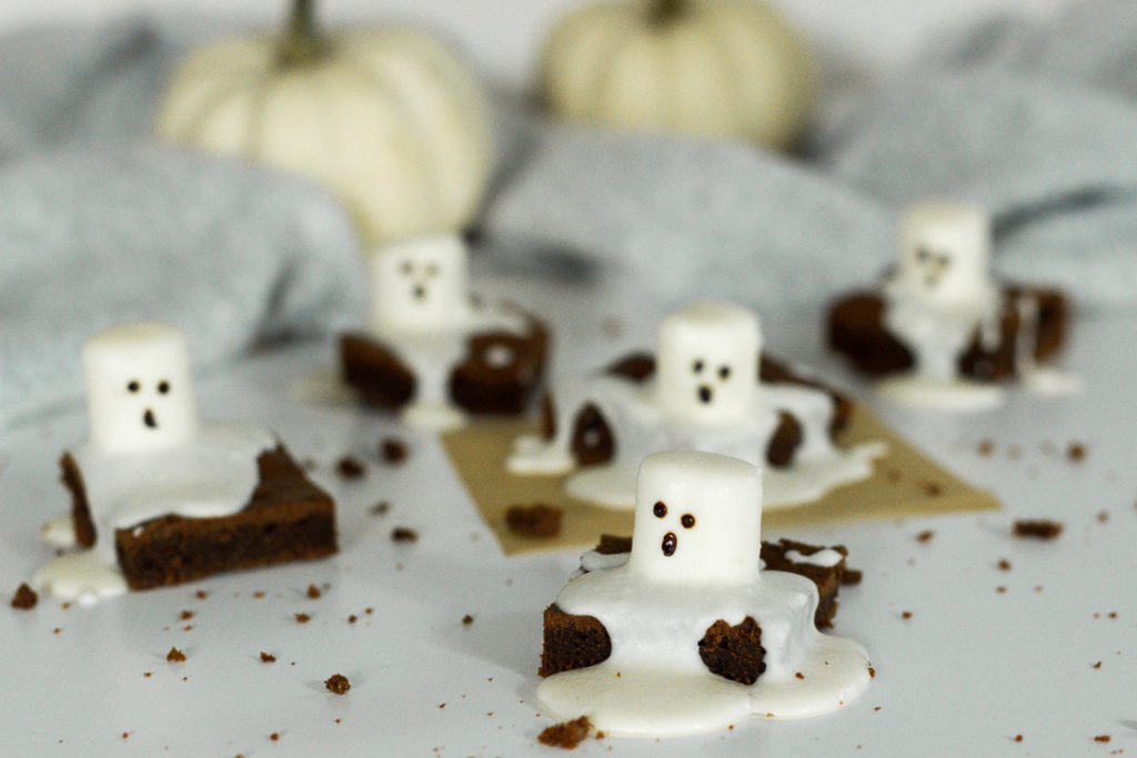 Brownies zu Halloween