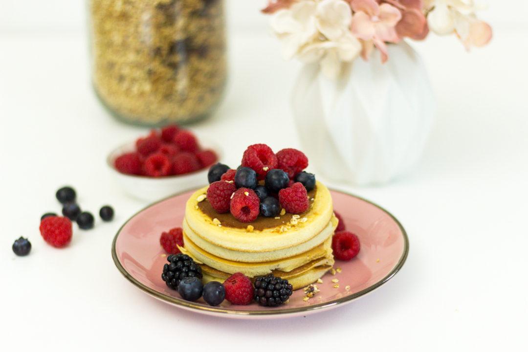 Pancakes zum Frühstück