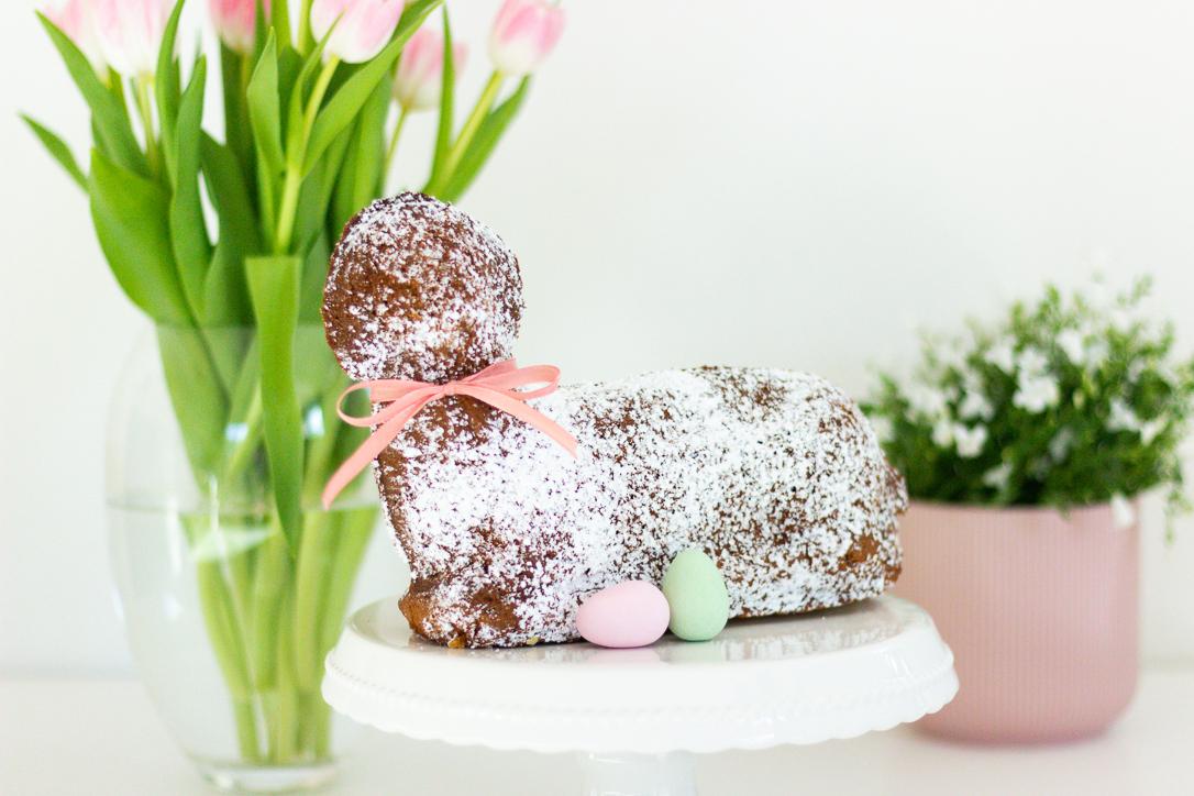 Ein Osterlamm zum Osterfest