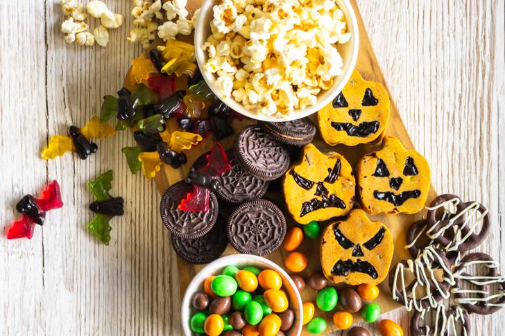 Halloween-Kürbis-Muffins