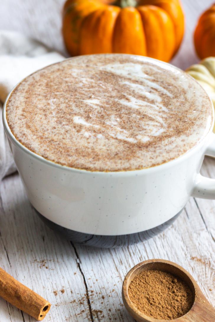 Herbstlicher Pumpkin Spice Latte