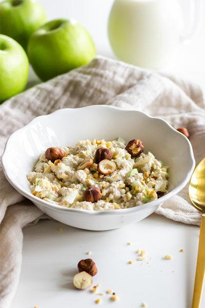 Bircher Müsli als gesunder Snack