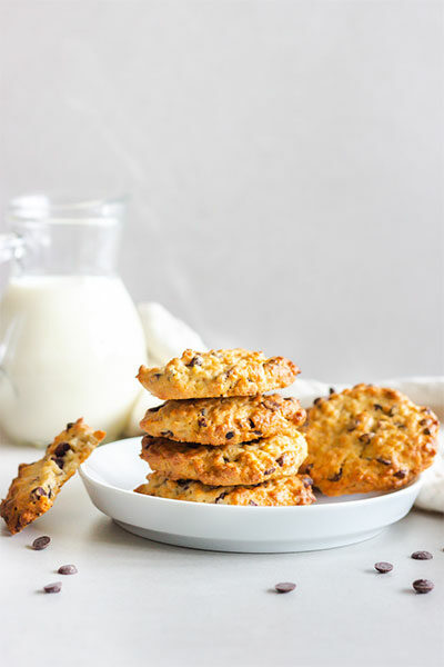 Cookies mit Chocolate Chips