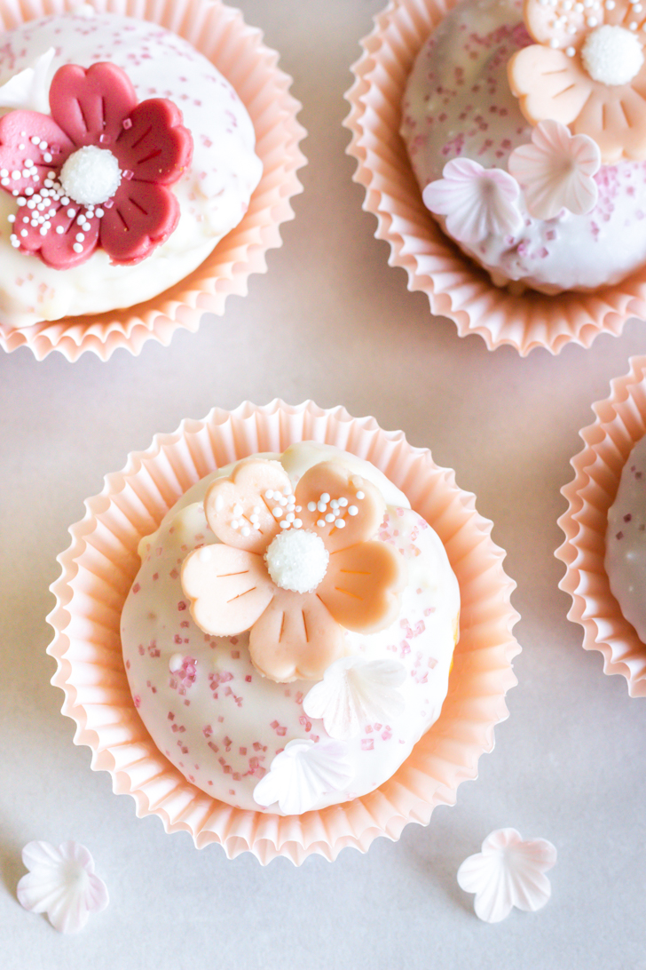 Muffins mit Zitrone